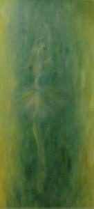 Balerina 150x70 vászon, olaj